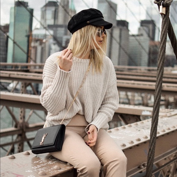 Sweaters - Beige sweater